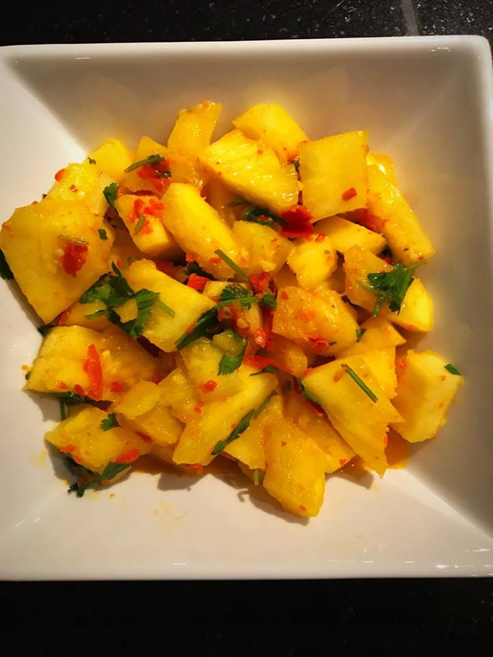 Pineapple in SAMBAL Chili Sauce 2