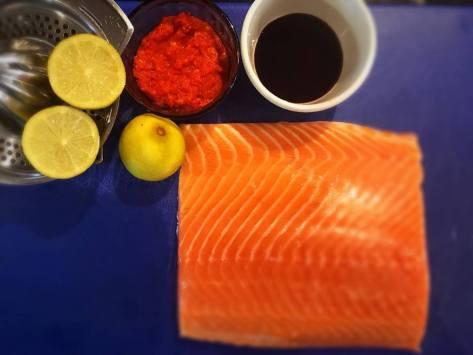 Salmon bake 1