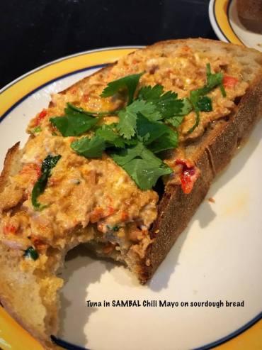 Tuna in SAMBAL CHILI SAUCE MAYO